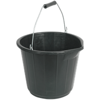 Sealey Polypropylene Plastic Bucket with Pouring Spout