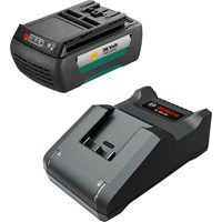 Bosch Genuine Garden 36v Cordless Battery 1.3ah and Charger Set