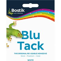 Bostik Blu Tack Handy Pack White