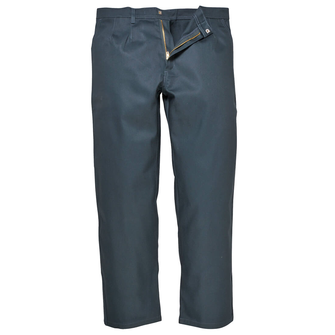 """Image of Biz Weld Mens Flame Resistant Trousers Bottle Green Extra Large 34"""""""
