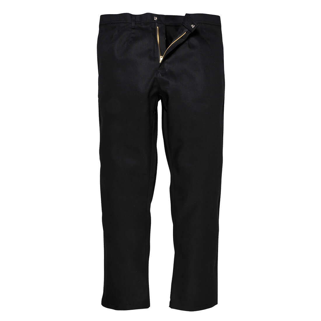 """Image of Biz Weld Mens Flame Resistant Trousers Black Extra Large 34"""""""