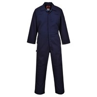 Biz Weld Mens Flame Resistant Mole Skin Coverall