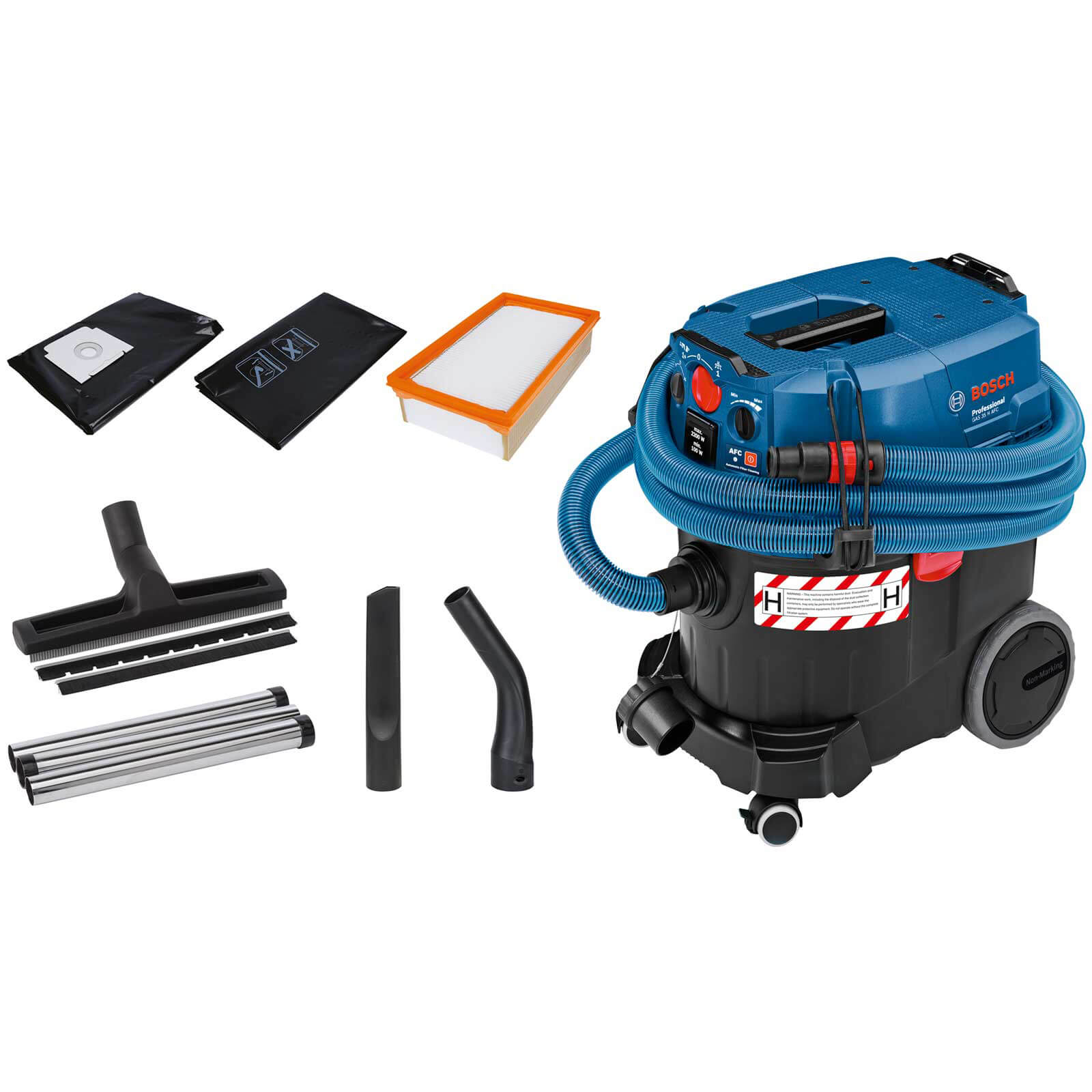 Bosch GAS 35 H AFC Wet and Dry Vacuum Dust Extractor 110v