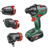Bosch ADVANCEDDRILL 18v Cordless Drill Driver and Attachments