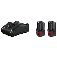 Bosch Genuine PRO GBA 12v Cordless Li-ion Battery 2ah and Charger Kit