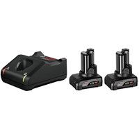 Bosch Genuine PRO GBA 12v Cordless Li-ion Battery 6ah and Charger Kit
