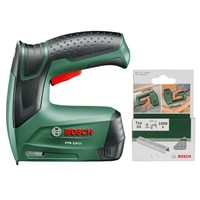 Bosch PTK 3.6 LI 3.6v Cordless Staple Gun + 1000 Extra Staples