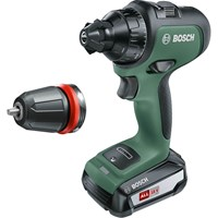 Bosch ADVANCEDDRILL 18v Cordless Drill Driver + 1 Attachments