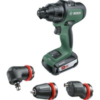 Bosch ADVANCEDIMPACT 18v Cordless Combi Drill + 3 Attachments