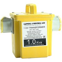 Carroll and Meynell 110v Portable Transformer 1.5Kva