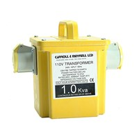 Carroll and Meynell 110v Portable Transformer 2.25Kva
