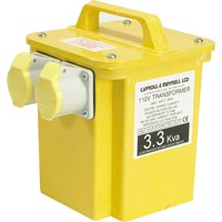 Carroll and Meynell 110v Portable Transformer 3.3Kva