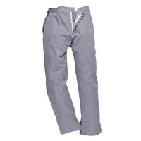Portwest C075 Barnet Chefs Trousers Check