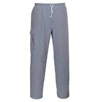 Portwest C078 Chester Chef Trousers Check