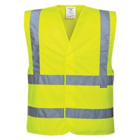 Portwest Two Band and Brace Class 2 Hi Vis Waistcoat
