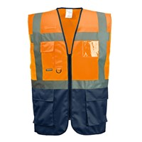 Portwest Warsaw Executive Class 1 Hi Vis Vest