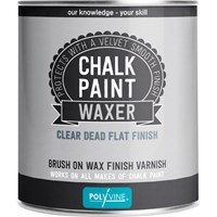 Polyvine Chalk Paint Waxer Dead Flat Finish