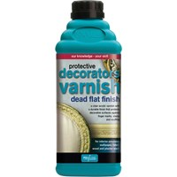 Polyvine Decorators Varnish Dead Flat Finish