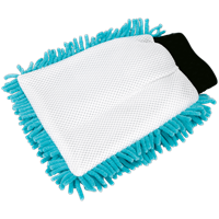 Sealey CC77 2 in 1 Shaggy Microfibre Mitt