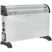 Sealey CD2005TT Electric Turbo Fan Convector Heater with Timer