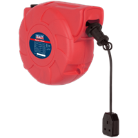 Sealey Wall Mounted Auto Cable Extension Reel