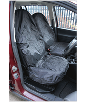 Sealey 2 Piece Lightweight Front Car Seat Cover Set