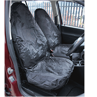 Sealey 2 Piece Heavy Duty Front Car Seat Cover Set