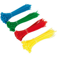 Sealey 200 Piece Assorted Colours Cable Ties