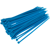 Sealey Cable Ties Blue Pack of 100