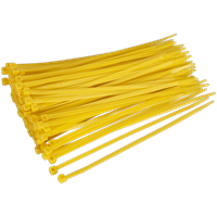 Sealey Cable Ties Yellow Pack of 100