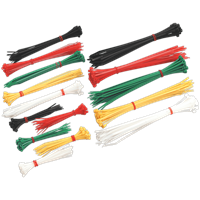 Sealey 375 Piece Cable Ties Assorted Pack