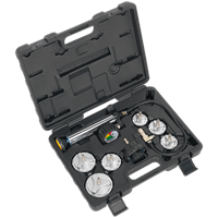 Sealey 7 Piece HGV / LGV Cooling System Pressure Test Kit