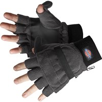 Dickies Thinsulate Fingerless Gloves with Mitten Cover