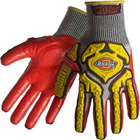 Dickies Heavy Duty Cut 5 Knit Impact Gloves