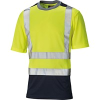 Dickies Mens High Vis T Shirt