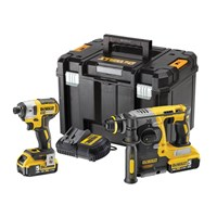 DeWalt DCK2532P2 18v Cordless SDS Hammer Drill and Impact Driver Kit