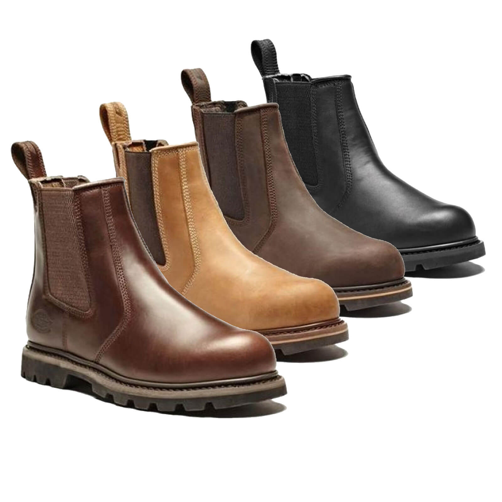 Dickies Mens Fife Dealer Safety Boots | Work Boots