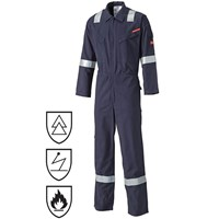 Dickies Mens Modacrylic Flame Retardant Overalls