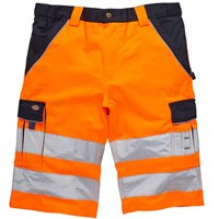 Dickies Mens High Visibility Industry 300 Shorts