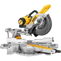 Dewalt DWS727 Double Bevel Sliding Mitre Saw 250mm