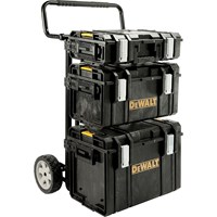 DeWalt Heavy Duty Toughsystem Trolley + 3 Tool Boxes