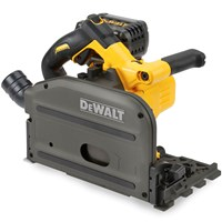 DeWalt DCS520 54v XR Cordless Brushless FLEXVOLT Plunge Saw 165mm