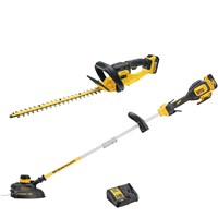 DeWalt 18v XR Cordless Hedge and Grass Trimmer Kit