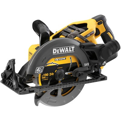 DeWalt DCS577 54v XR Cordless FLEXVOLT Circular Saw 190mm