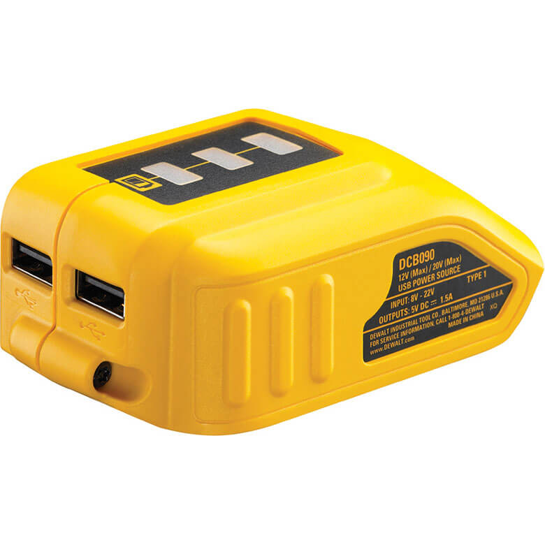 Image of DeWalt DCB090 USB Battery Adaptor
