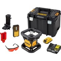 DeWalt DCE074D1R 18v Cordless XR Rotary Laser Level Kit