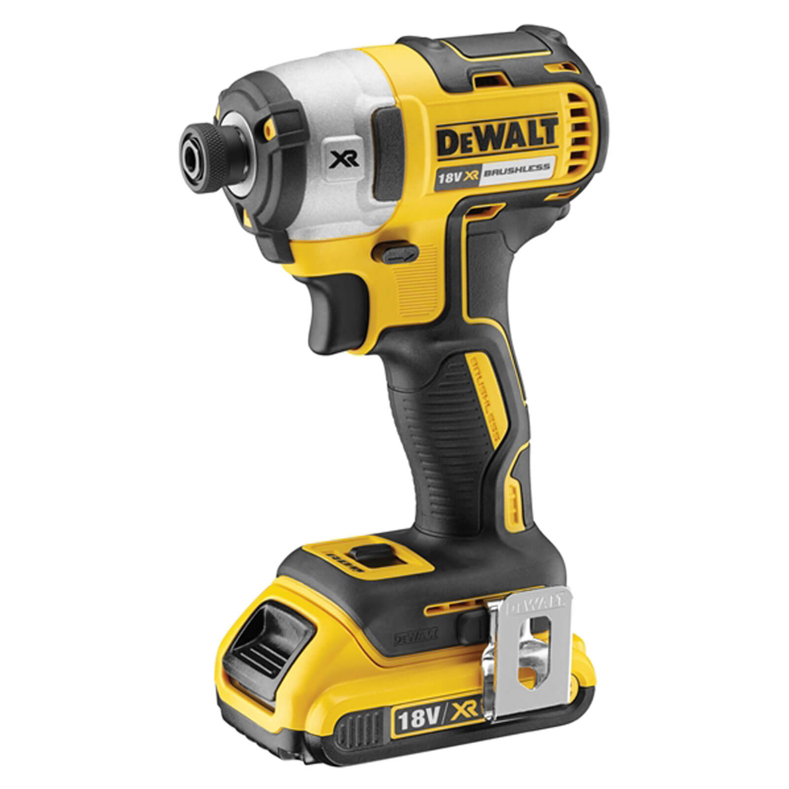 Image of DeWalt DCF887 18v XR Cordless Brushless Impact Driver 1 x 4ah Li-ion Charger Case
