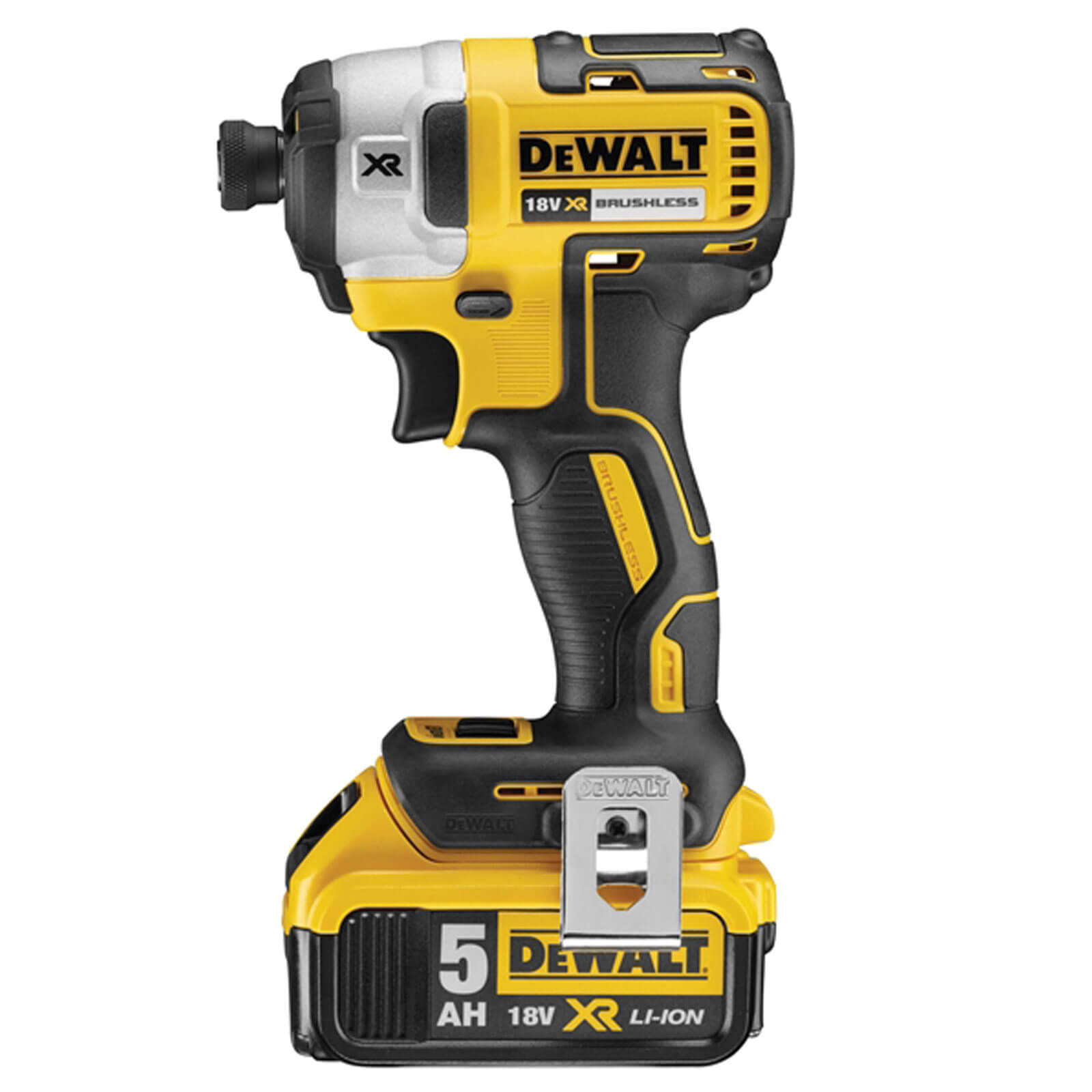 Image of DeWalt DCF887 18v XR Cordless Brushless Impact Driver 2 x 5ah Li-ion Charger Case