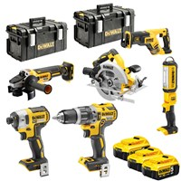 DeWalt DCK623P3 18v XR Cordless Brushless 6 Piece Power Tool Kit