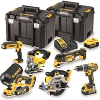 DeWalt DCK665P3 18v XR Cordless 6 Piece Power Tool Kit